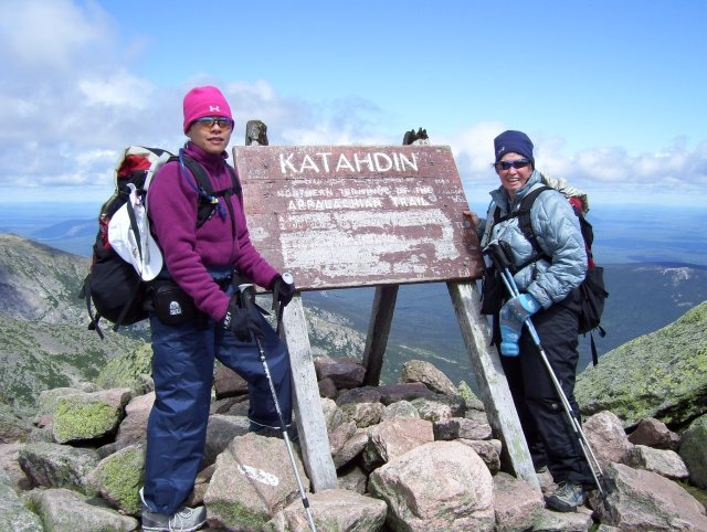 Summit of Mt. Katahdin