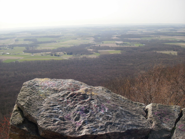 View from Bake Oven Knob summit