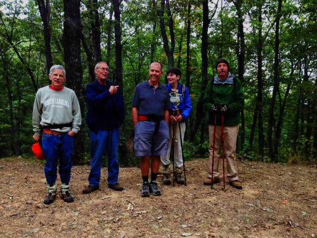 Natural Bridge Appalachian Trail Club members