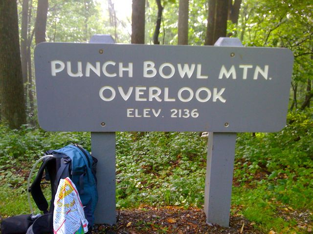 Punch Bowl Mountain Overlook