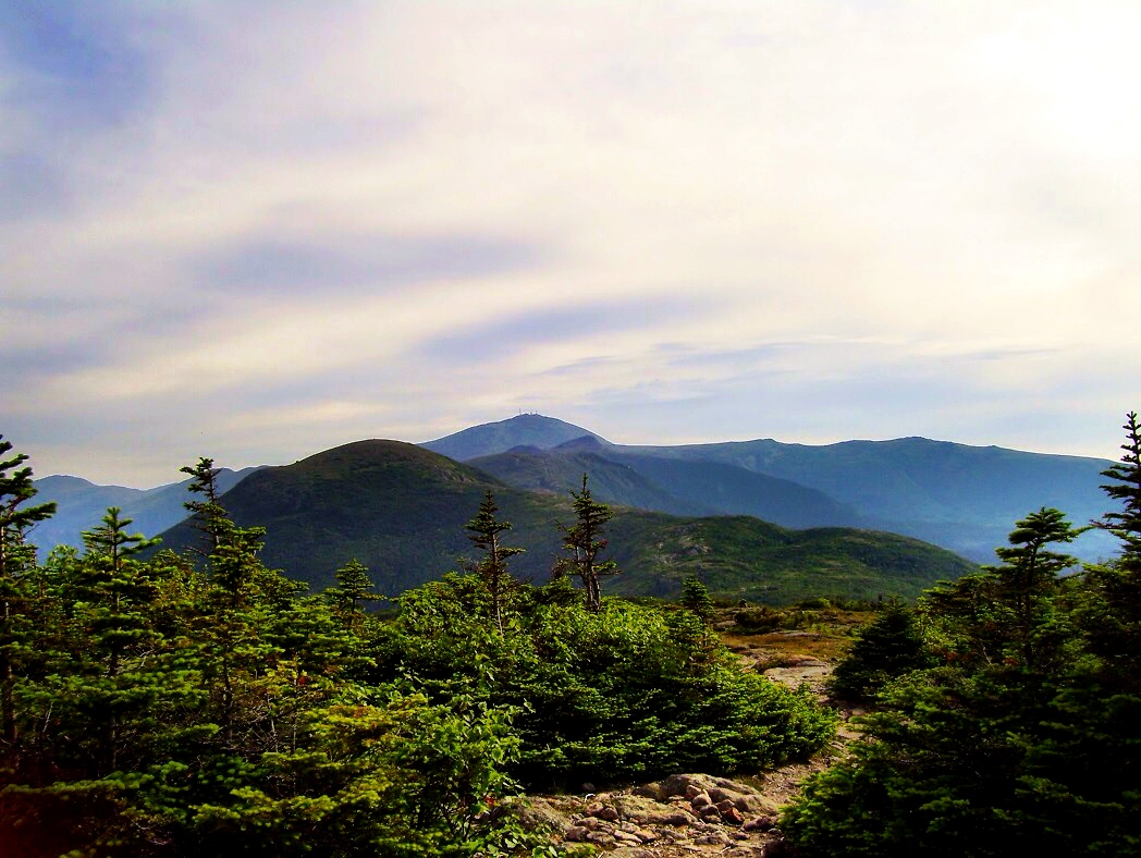 Mt. Washington in the distance