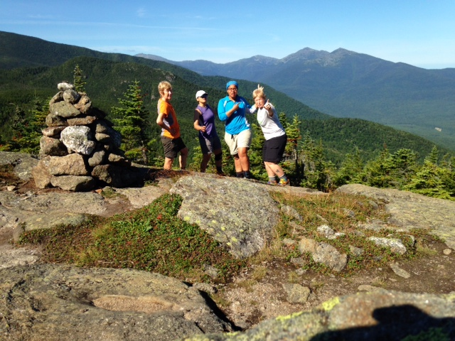 Trail Dames on Mt. Moriah