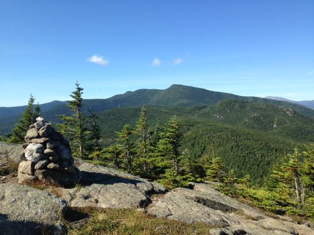 Looking back at Carter Range from Moriah