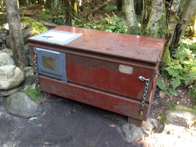 Bear box at Imp Campsite