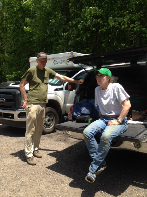 GATC Trail Maintainers at Unicoi Gap