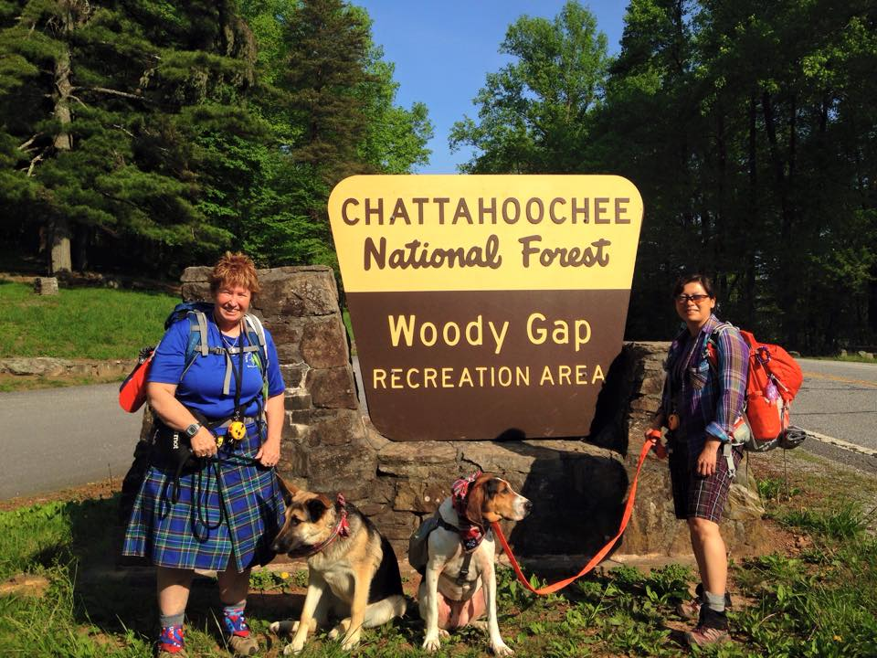 Plaid hiking day 2015