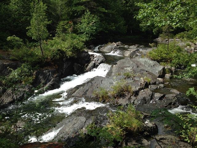 Pierce Pond Stream Falls