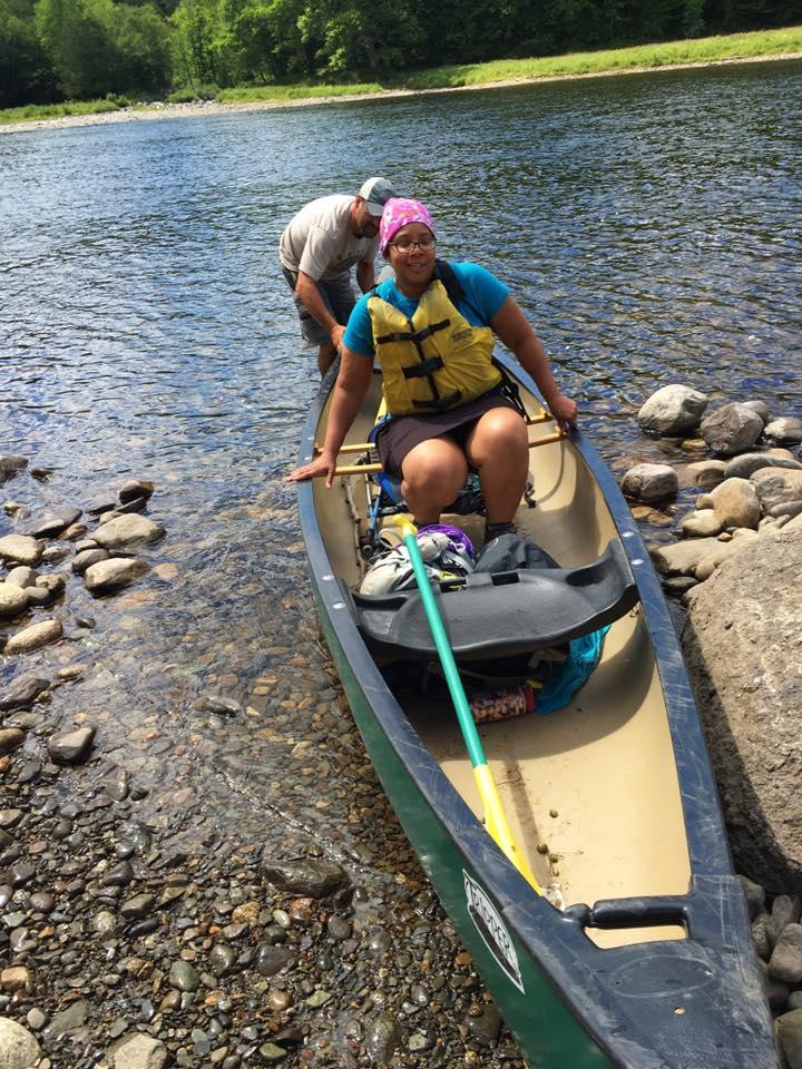 Lockdown in canoe